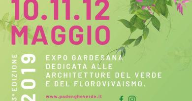PADENGHE VERDE EXPO 2019: giardini, piante e fiori in fiera sul lago di Garda