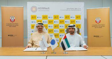 IL DIPARTIMENTO CULTURA E TURISMO DI ABU DHABI ED EXPO2020 DUBAI FIRMANO UN MEMORANDUM D'INTESA