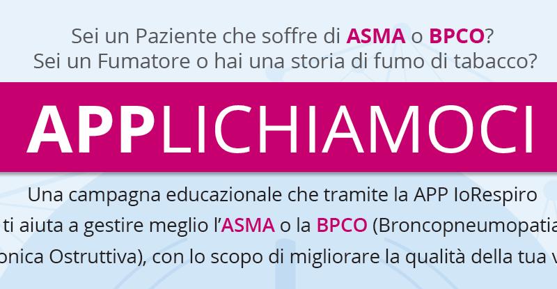 Asma e BPCO: una app aiuta i pazienti a controllare i sintomi e seguire correttamente la terapia