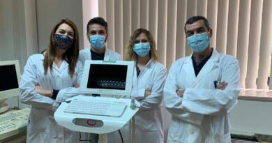 EcovidUS, l'ecografo portatileper ladiagnositempestiva dellapolmoniteda Covid19