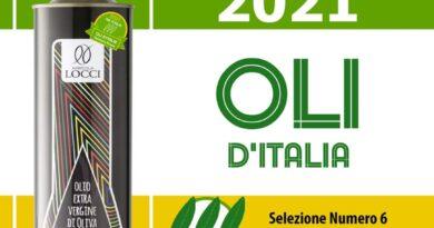 """L'Umbria si aggiudica le Tre Foglie, punteggio massimo, della 11° edizione della guida agli Oli d'Italia 2021 del Gambero Rosso:l'Extravergine migliore d'Italia è quello di Giano dell'Umbria (Pg)  """"Selezione N. 6""""dell'Agricola Locci"""