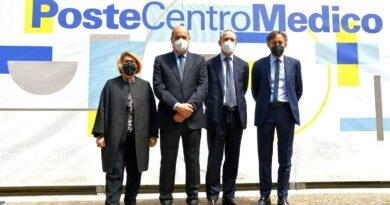 """POSTE ITALIANE: INAUGURATO IL PRIMO """"POSTE CENTRO  MEDICO""""  POLO DI ECCELLENZA PER I DIPENDENTI"""