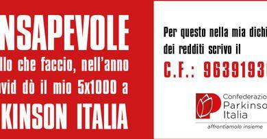 Confederazione Parkinson Italia: donaci il tuo 5×1000