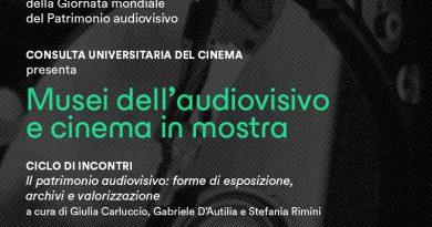 GIORNATA MONDIALE DEL PATRIMONIO AUDIOVIDIVO 2021