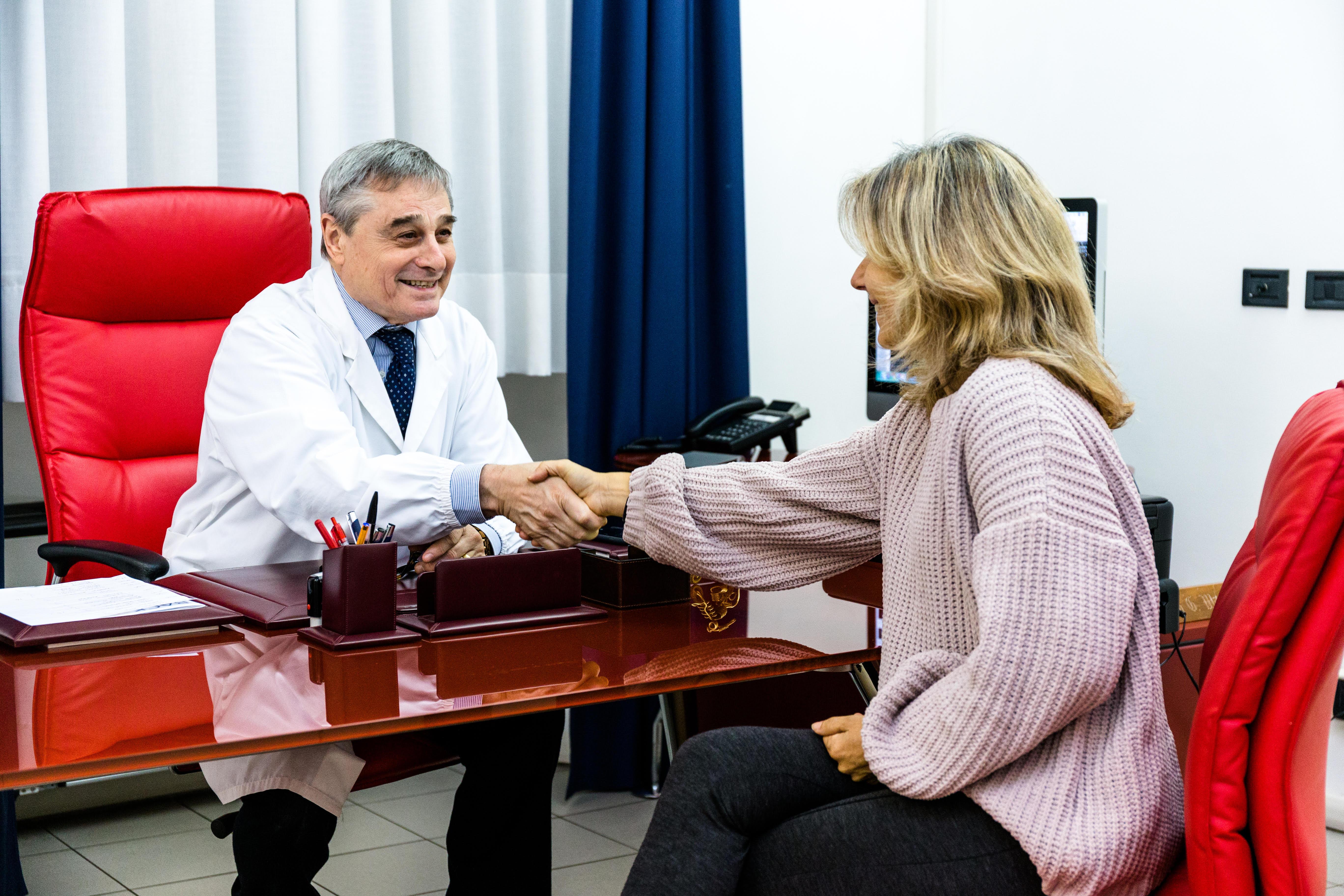 Chiropratici pazienti di incontri